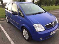 Vauxhaull Meriva 1.4 petrol, 2 owners from new, 93k mileage, MOT till December
