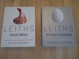 Leiths Simple Cookery + Leiths Meat Bible