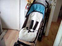 COSATTO MONACO BUGGY + CHESTPADS & FOOTMUFF **FREE DELIVERY HULL**