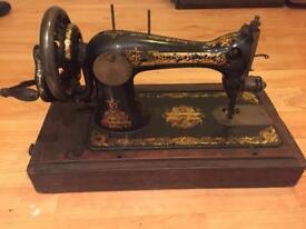 Antique singer sewing machine 1898