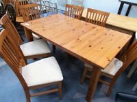 Table and 6 Chairs…32046B