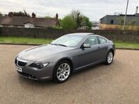2004 BMW 645ci Coupe Auto *FSH, HPI Clear, Pan Roof, Leather 4.4 Petrol Bargain Genuine
