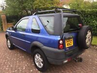 Land Rover freelander 2ltr td4 gs 1 year mot 4wd