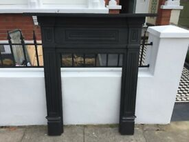 Cast iron fire surround - £150 ono