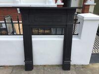 Cast iron fire surround - £150 ono