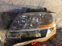 Mitsubishi evo 8 complete passenger side headlight