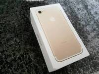 Apple iphone 7 32gb gold boxed
