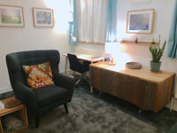 Four well designed Therapy rooms for rent in London Waterloo and Southwark - SE1