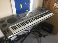 Casio wk1800 electronic keyboard and stand