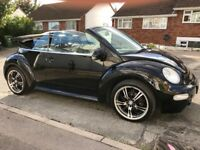 VolksWagen Beetle 1.6 Cabriolet - 2003-Manual-Very Low Mileage-Full Service history