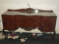 Hardwood Drawers/Desks.