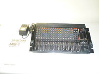 Rack Mixer with MIDI mutes - TASCAM MM1