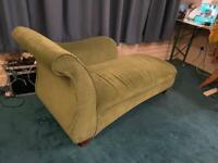 Green velvet Chaise longues