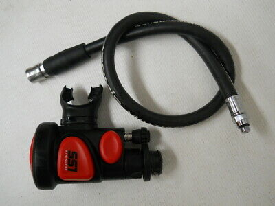 """BCD Corrugated Inflator Hose Scuba Diving Dive 19/"""" Replacement AA86-19"""