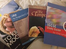 English books for GCSE revision