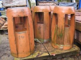Reclaimed Georgian Clay Chimney Pots