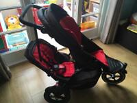 Phil and Teds Explorer Double Pushchair.