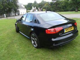 Audi A4 177Bhp Quattro Black Edition(2013) in Phantom Black, full Leather, Tech Pack, 74,000 miles