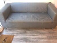 IKEA grey 2 seat sofa -£50 ono