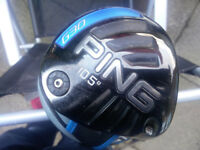 Ping G30 10.5 Degree Driver fitted with choice of stiff or regular shaft