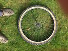 "Mountain Bike 26"" wheel with tyre and tube"