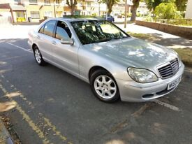 2003/53 Mercedes-Benz S320 CDI Automatic 4dr Saloon Silver