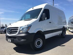 2016 Mercedes-Benz Sprinter 4X4, High Roof, Rear View Camera, Fu