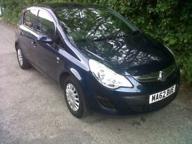 VAUXHALL CORSA only £20 per year road tax