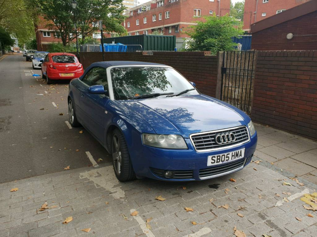 Audi A4 18t S Line 2005 Manual Convertible In Islington London Engine Schematics