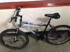 Shockwave xt675 mountain bike