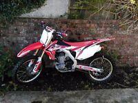 Crf 450 2014 twin pipe mint bike not rm yz cr kxf yzf rmz