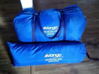 Vango Woburn tent and awning