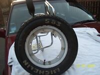 VESPA LML PX FOUR IN ONE CARRIER WITH VESPA SPARE WHEEL