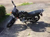 Yamaha YBR125 2009 Black 9000miles