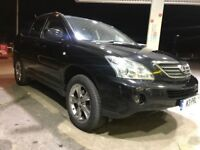 "2006 LEXUS RX400H-BLACK-3.3HYBRID,18""ALLOYS,ELECTRIC HEATED LEATHER SEATS,12 MONTHS MOT,FULL LEATHER"