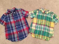 Genuine Ralph Lauren Kids Shirts, Age 3 (Lovely Shirts)
