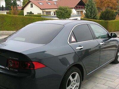 Black 85 Passgenaue Tönungsfolie Honda Accord Limousine Bj 2008-2011