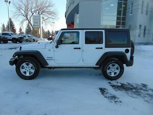 2015 Jeep Wrangler Unlimited Sport 4x4 (Auto, Hardtop)