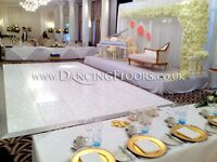 Dancing Floors - Portable Starlit White LED Dance Floor Hire - London
