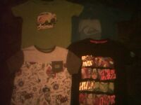 """4 BRAND-NEW(no tags) BOYS T-SHIRTS """"ages 6-7""""."""
