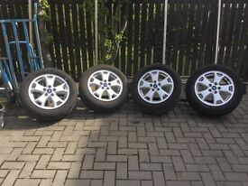 Ford connect alloy wheels and tyres