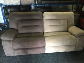 New/Ex Display Kinman Funky 3 Seater Electric Recliner Sofa