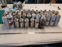 Montana and other various spray paints