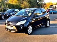Ford Ka   Zetec Start Stop Only  Miles Fsh Good