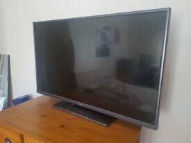 Hitachi Television 37 inches wide