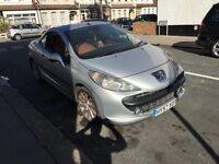 2008 Peugeot 207cc 1.6 Diesel Rare leather no Px for z4 x5, golf, x3