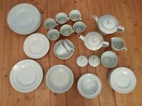 Woods Ware Beryl Vintage Retro 1940/50's Green Collection (54 items as seen in Call The Midwife)
