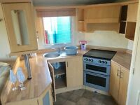Cheap three bed static in morecambe , BY THE LAKES and BLACKPOOL . 12 month season with bar & pool