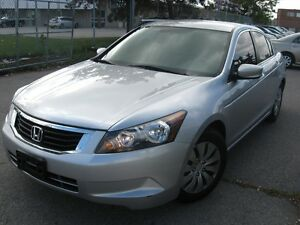 2008 Honda Accord LX,AUTO,155km,$8300,SAFETY E/TEST INCLUDED