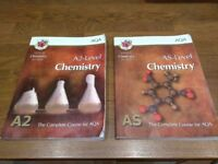 AQA AS & A2 Level Chemistry course books